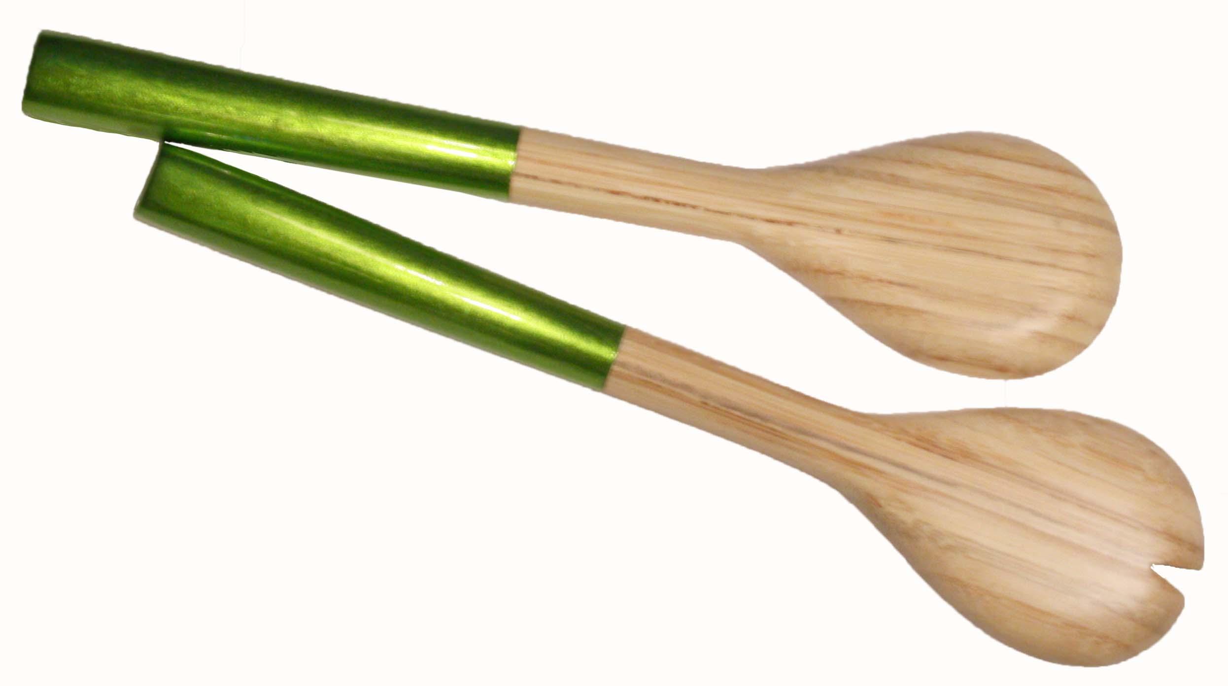 Salladsbestick Grönt