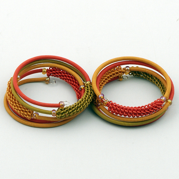 Armband Orange Tones S