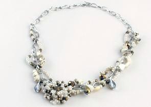 Smycken/Jewelry - Luz Designs: Halsband Sommarbrons/Necklace Summer Bronze - Halsband Sommarbrons/Necklace Summer Bronze