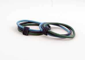 Smycken/Jewelry - uSisi Designs: Armband & Halsband/Bracelet & Necklace - String - Armband/Bracelet - String: Havsdjup/Deep Ocean