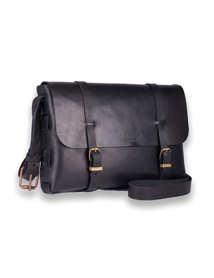 Messenger bag Large svart 1