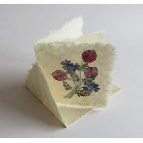 Blomsterkort 10x10 cm