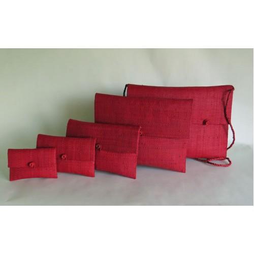 Kuvertväska Röd