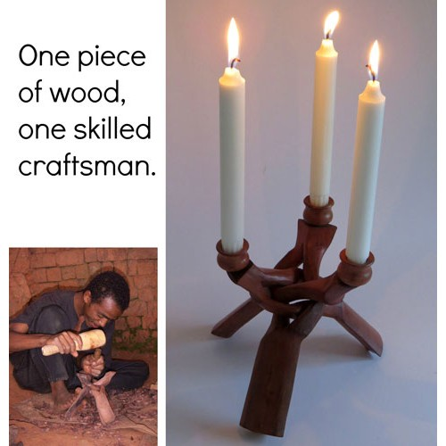 One piece wood craftsman