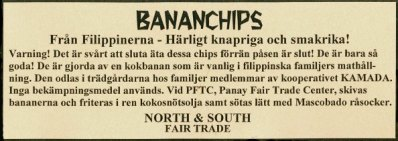 Bananchips info