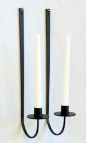 Ljusstake/Candle Holder - Lampett Spira/Sconce Spira - Lampett Spira/Sconce Spira