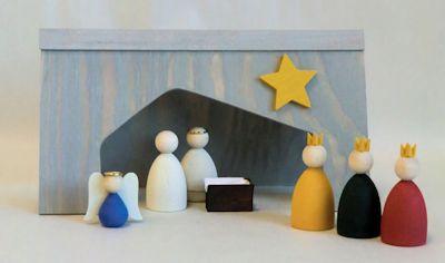 Julkrubba/Christmas Crib - Julkrubba/Christmas Crib