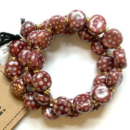 Bracelets smarty - New Peony:White m.o.p