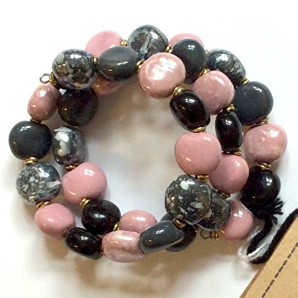 Bracelets smarty - Rose Gray m.o.p