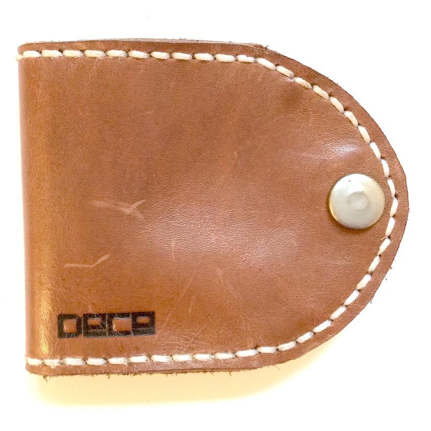 Coin Wallet brun