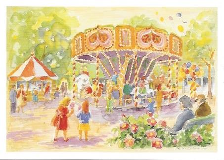 Åka karusell