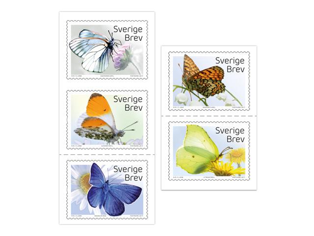 Inrikes häfte Fjärilar