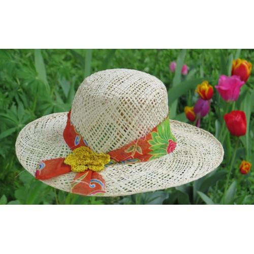 Chapeau makara floral 3