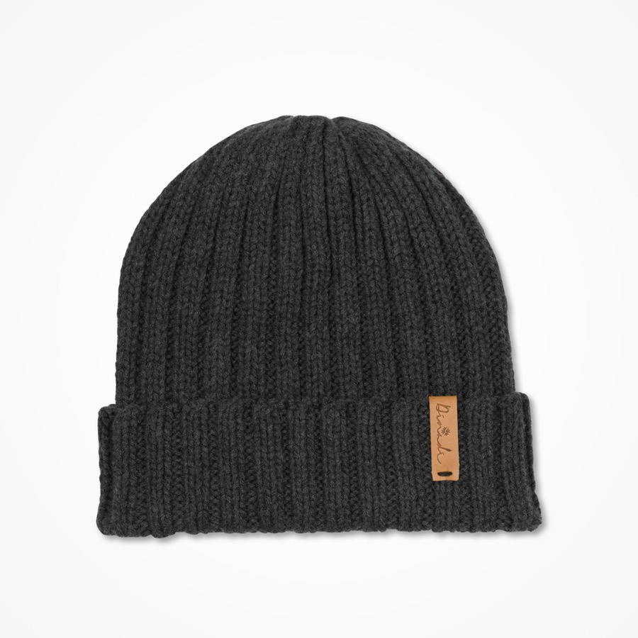 Anders Hat Charcoal Grey
