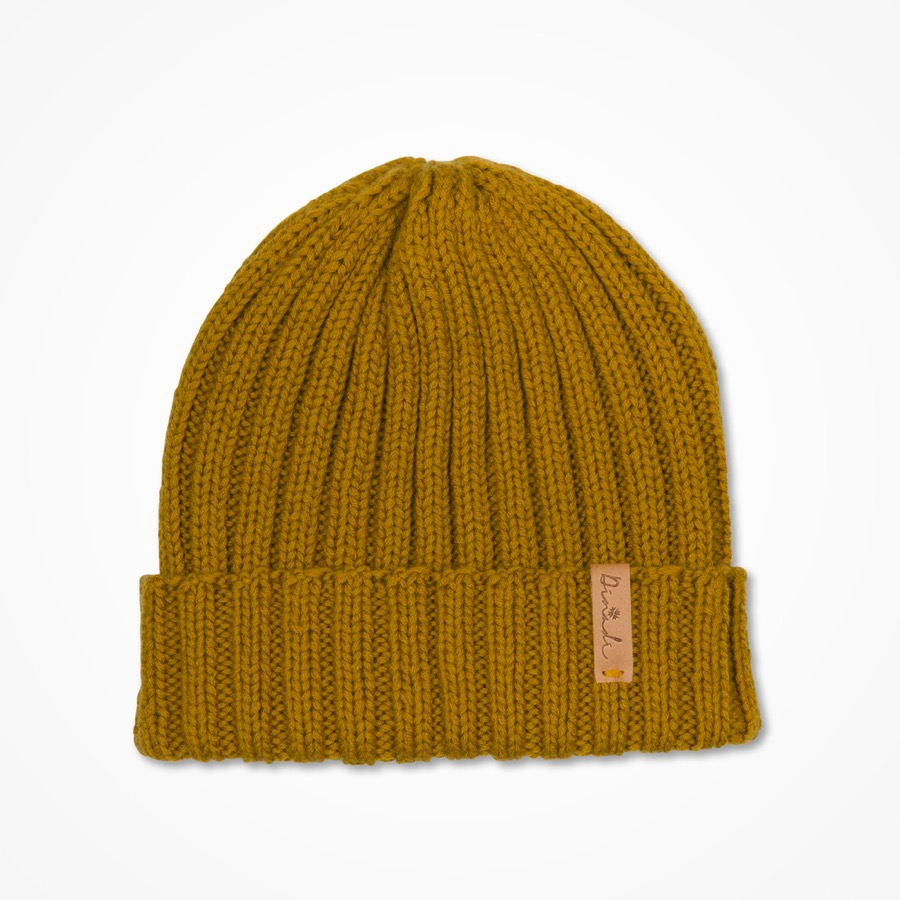 Anders Hat Mustard Yellow