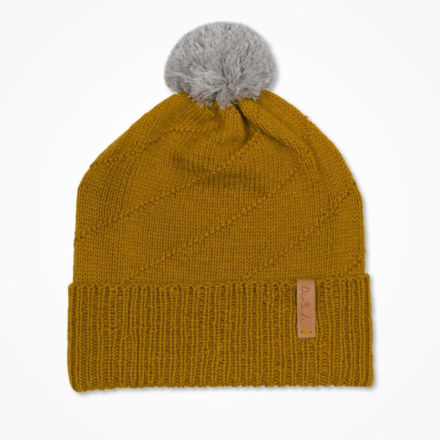 Signe Hat Mustard Yellow