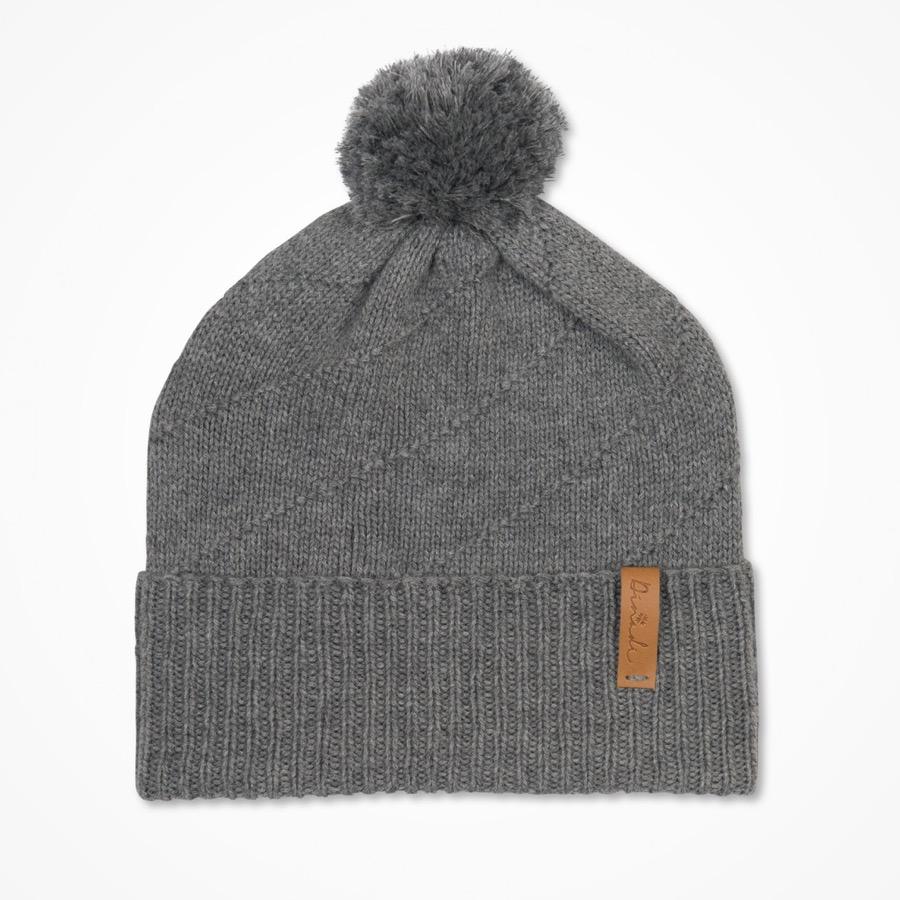 Signe Hat Pebble Grey