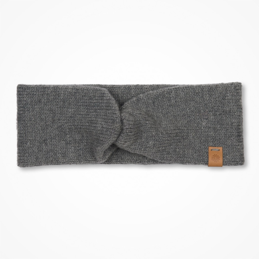 Märit Headband Pebble Grey