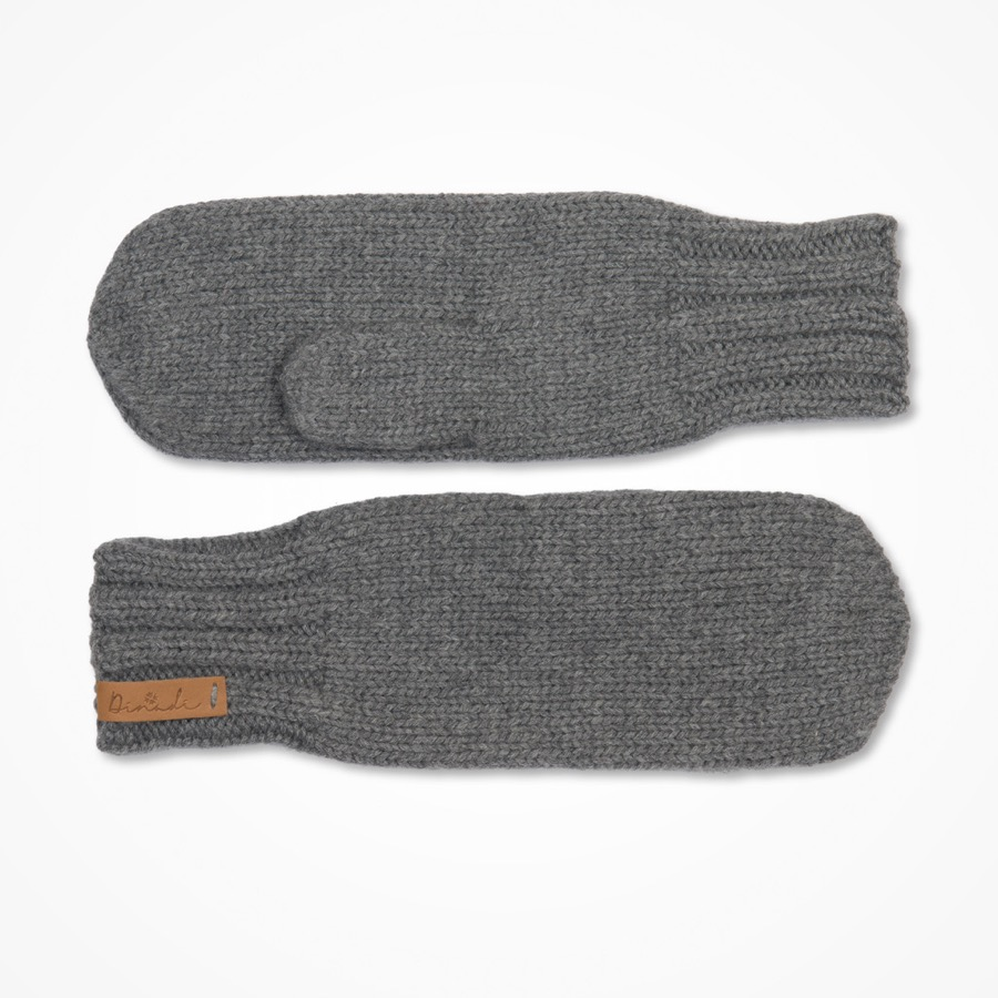 Klara Mittens Pebble Grey