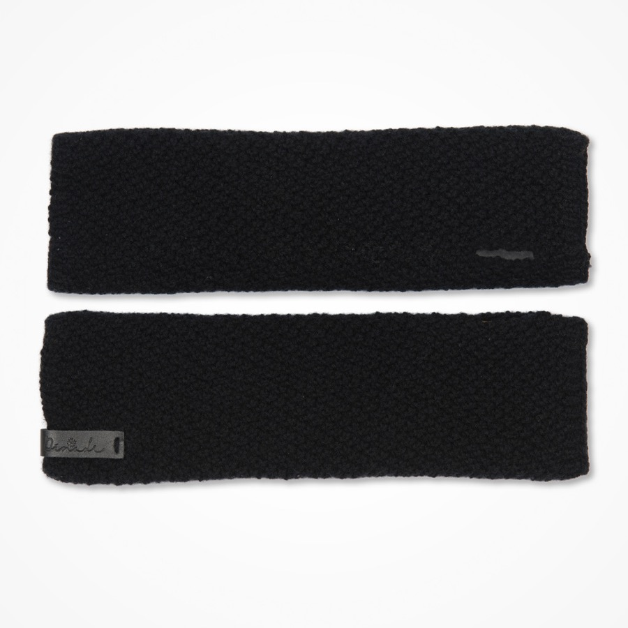 Stina Half Mitts Black