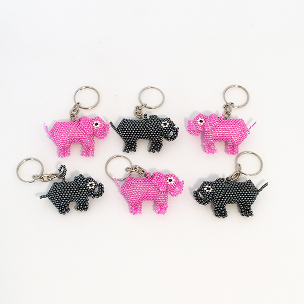 Nyckelring Elefant