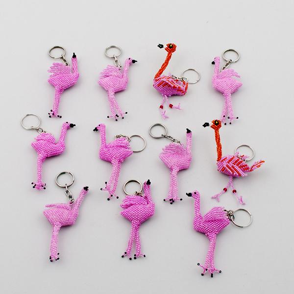 Nyckelring Flamingo