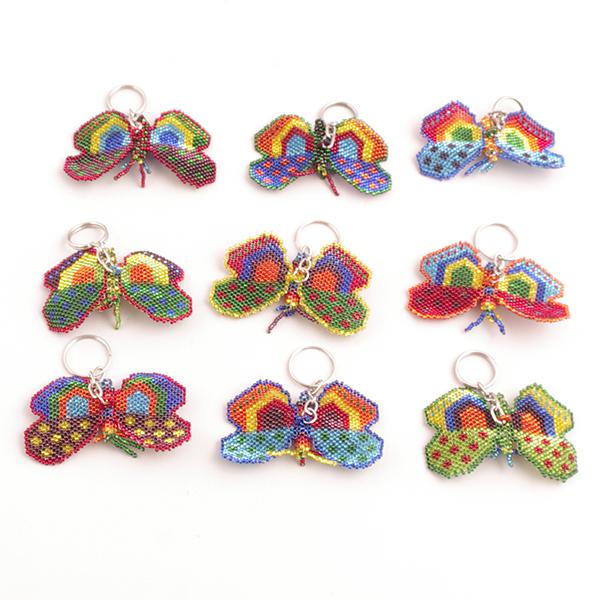 Nyckelring Regnbågsfjärilar