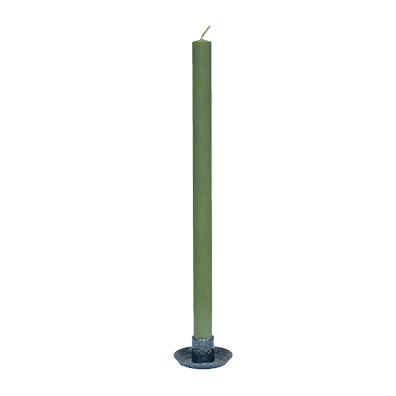 Victorialjus 30 cm – Olivgrön