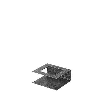 Ljusstake 4 cm till Spindelnätsljus – Antiksilver