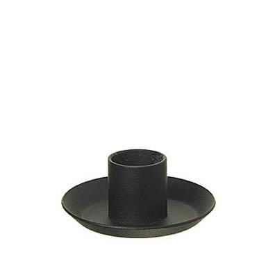 Ljusstakar/Candle Holders - till Victorialjus/for Victoria candles - 6,5 cm Stake/Holder - Svart/Black
