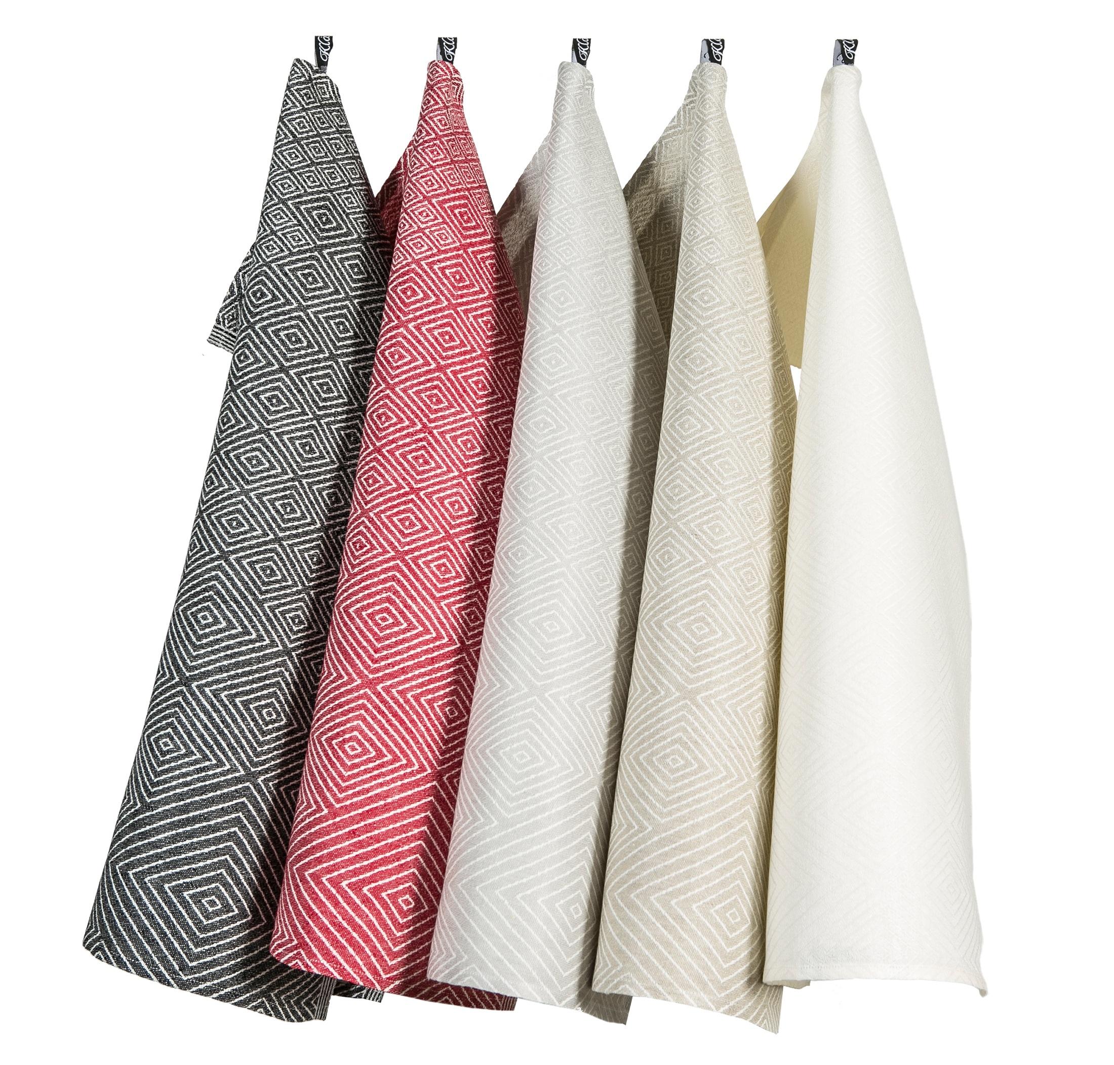 Gåsöga handduk