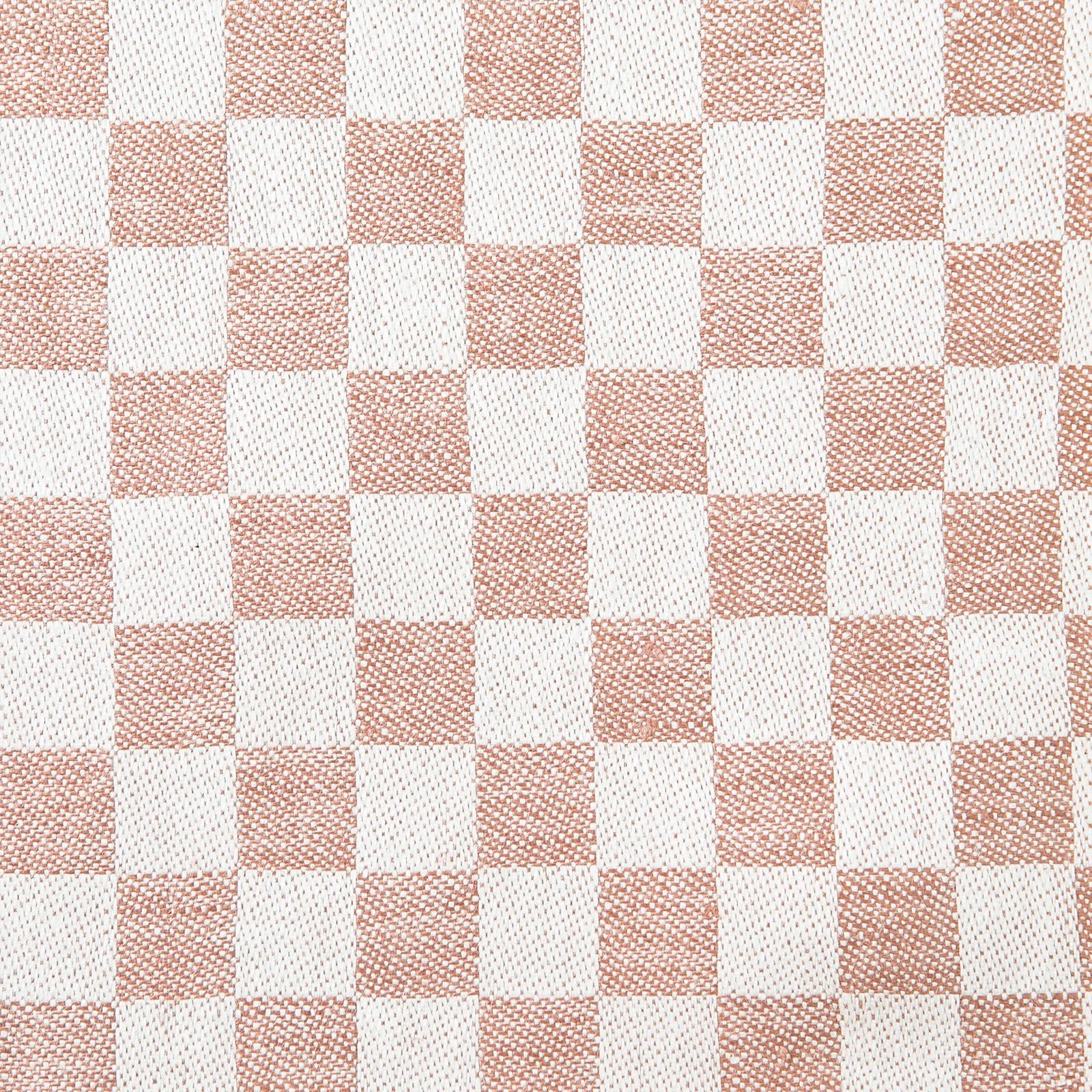 Schackrutan handduk puderrosa