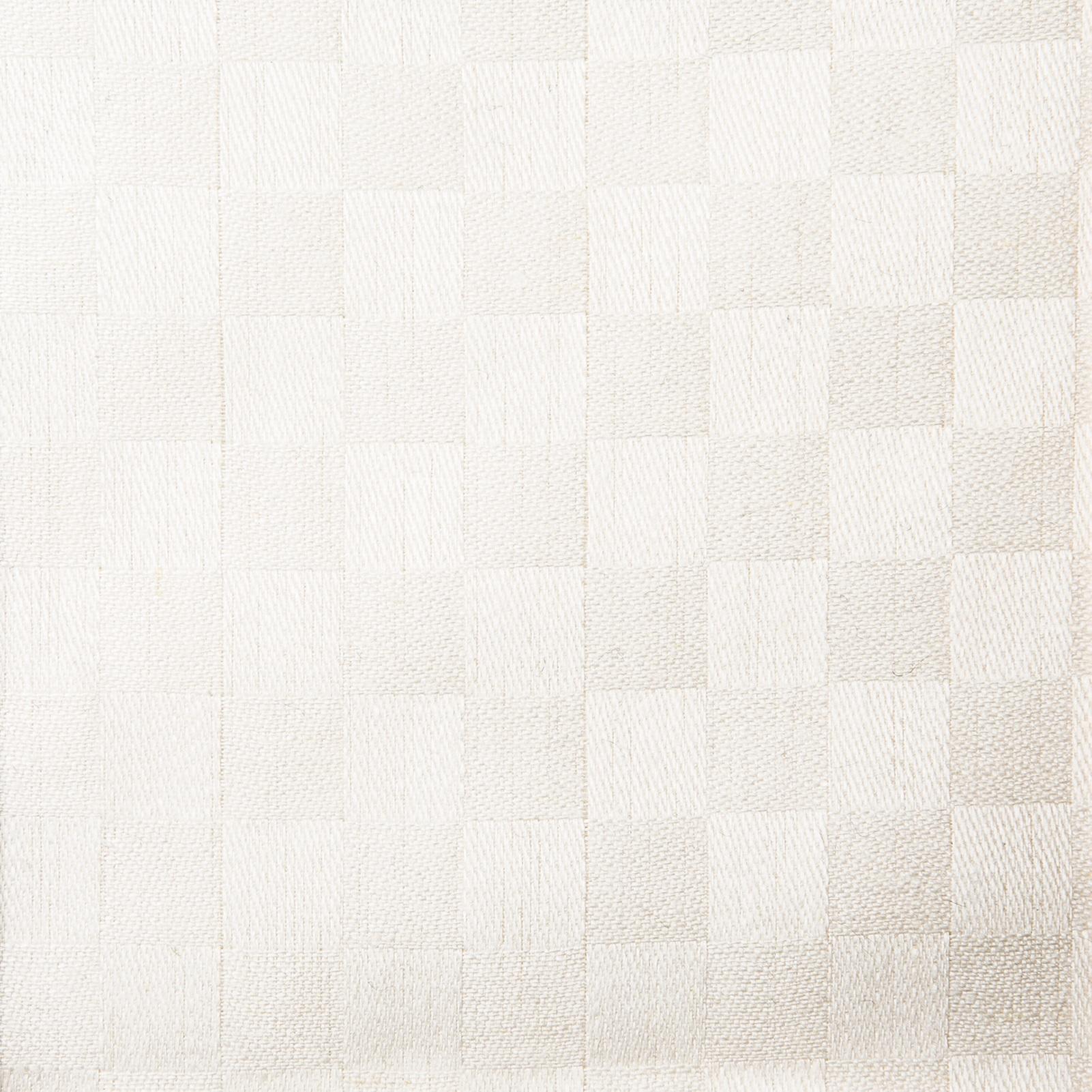 Schackrutan handduk vit