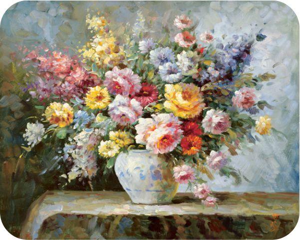 Musmatta – Blomstervas