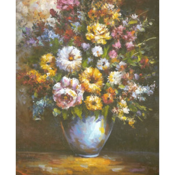 Pussel – Blomstervas