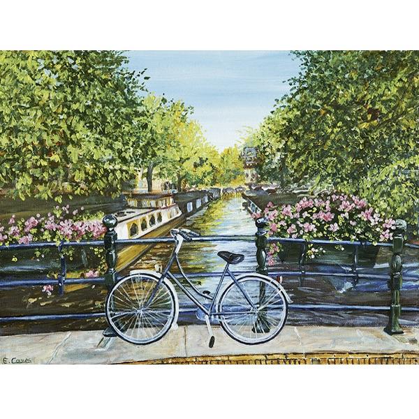 Pussel – Cykeltur vid kanalen
