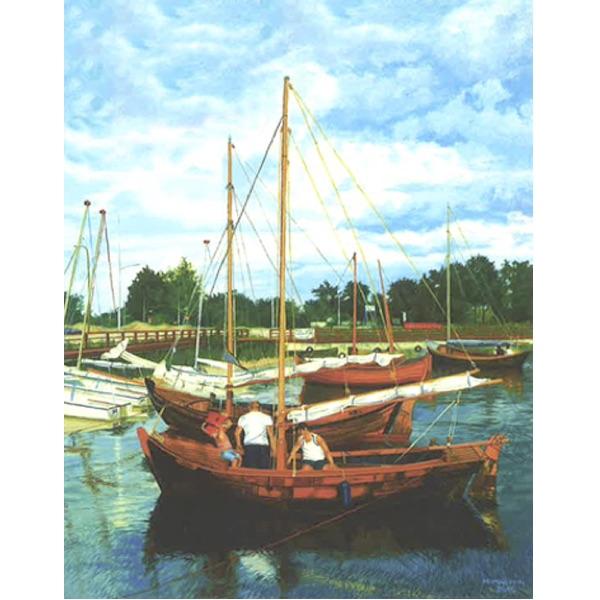 Pussel – Segelbåtar