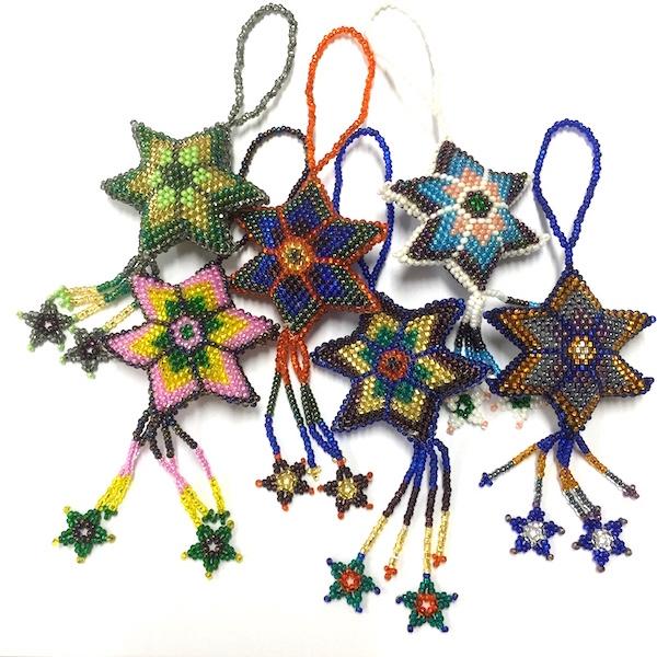 Dekoration Stjärna - Kulör