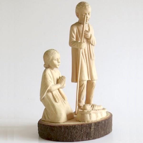Julskulptur, Jesus i krubban med Maria och Josef