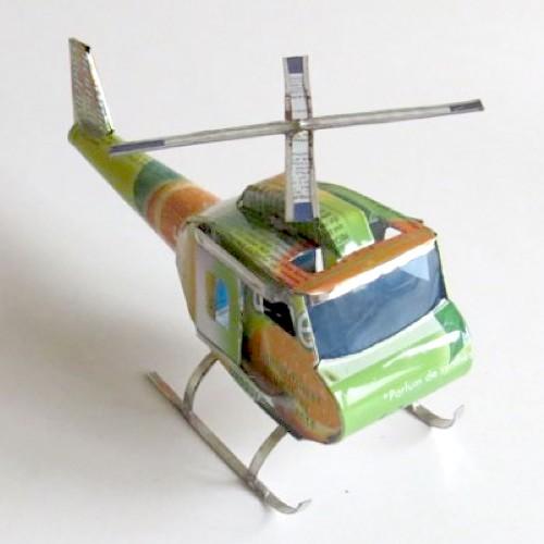 Metallhelikopter