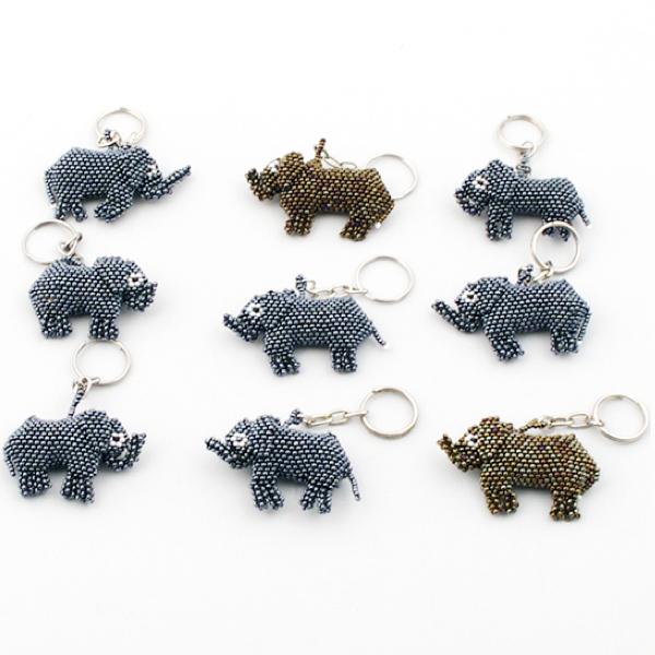 Nyckelring - Elefant
