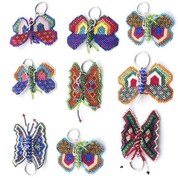 Nyckelring - Fjäril