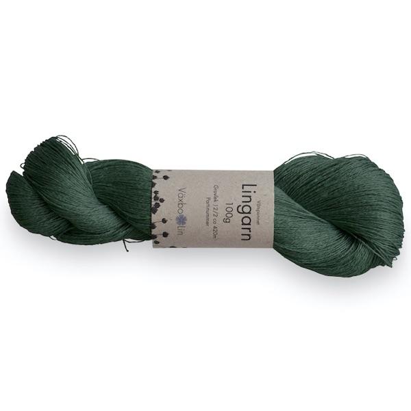 Lingarn Mossgrön