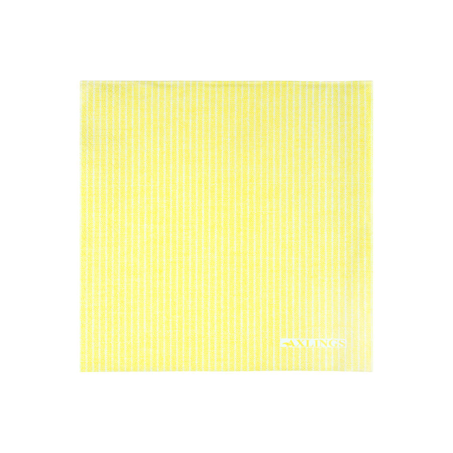 Pappersservetter 40x40 cm50-pack -Citron/Vit