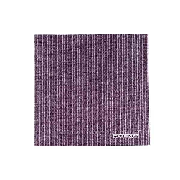 Pappersservetter 40x40 cm50-pack -Lila/Vit