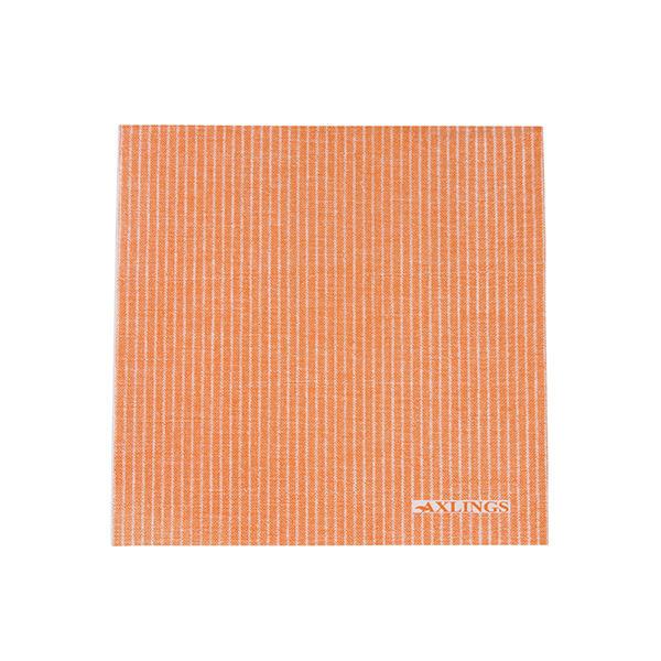Pappersservetter 40x40 cm50-pack -Orange/Vit
