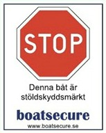 Extra dekal, BoatSecure