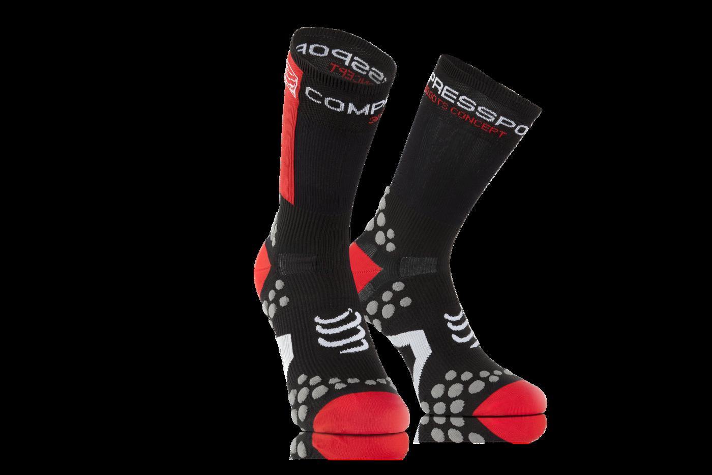ProRacing Socks V2_1-BIKE-Black-Red