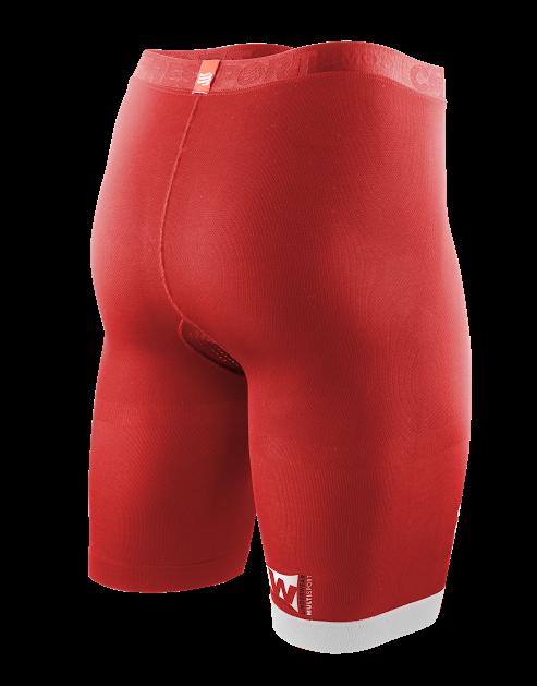 UW Multisport Short v2 - Red_Back