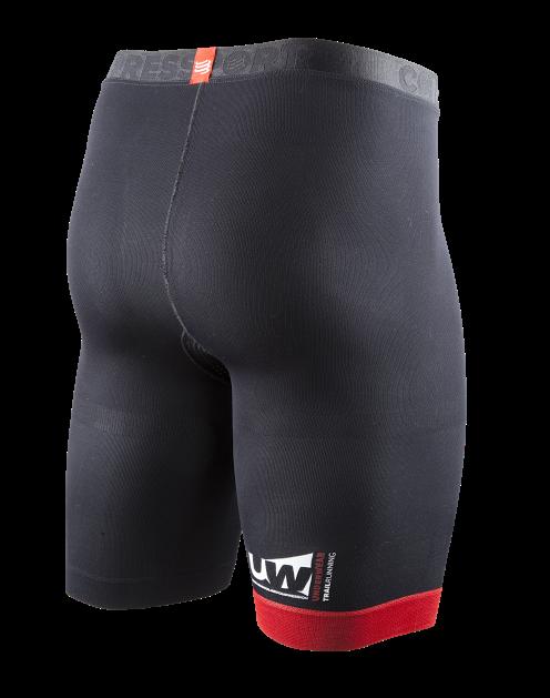 UW Trail Running Short v2 - Black - Back